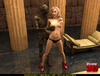 Suddenly an Egyptian mummy gets alive and bangs badly a curvy blonde hottie
