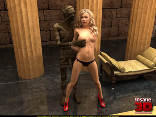 Suddenly an Egyptian mummy gets alive and - Cartoon Sex - Picture 2