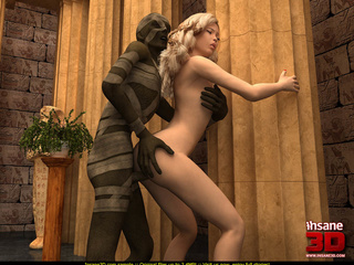Suddenly an Egyptian mummy gets alive and - Cartoon Sex - Picture 3