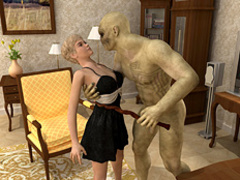 Very hot blonde vixen getting banged dirtily - Cartoon Sex - Picture 1
