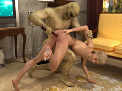 Very hot blonde vixen getting banged dirtily - Cartoon Sex - Picture 3