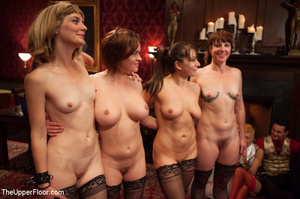 House of pleasure as fours sexy chicks l - XXX Dessert - Picture 14