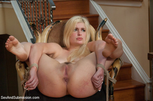 Lucky guy with tattoo gets to bind and u - XXX Dessert - Picture 8