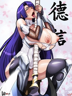 For these lustful manga babes is no difference - Picture 6