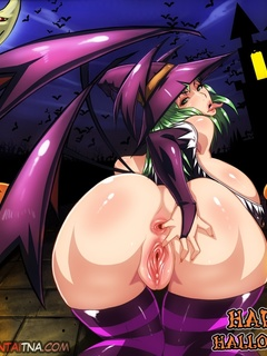 Dirty cartoon witches and fairies with huge tits and - Picture 1