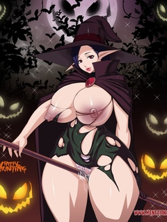 Awesome drawn porn calendar with slutty busty babes - Picture 6