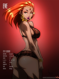 Cartoon bombshells with huge boobs and seductive - Picture 2