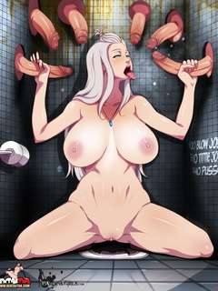 Hentai transsexuals love hot busty chicks - Picture 1