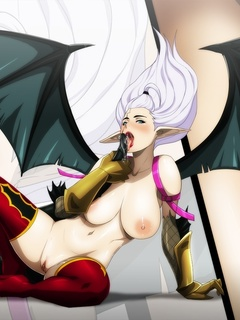 Hentai transsexuals love hot busty chicks - Picture 2