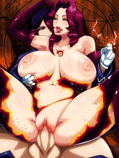 Lewd manga lesbians can't satisfy their lust - Picture 1