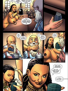 Amazing adult comics with famous heroes and aliens - Picture 3