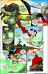 Amazing adult comics with famous heroes and aliens fucking