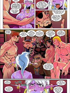 Amazing adult comics with famous heroes and aliens - Picture 6