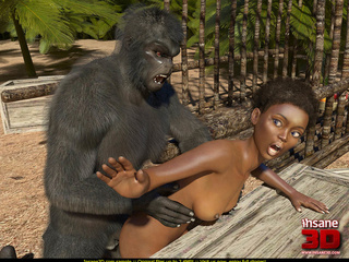 Lady Has Sex With Gorilla Porn