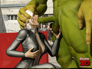 Angry Hulk banged roughly blonde hottie in - Cartoon Sex - Picture 3