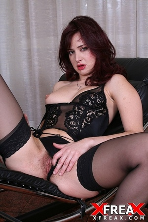 Sexy redhead with bushy cunt sucks three dicks and gets screwed in ass and cunt - XXXonXXX - Pic 11