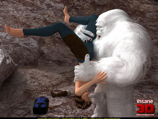 Cute mountain climber in jeans and jacket - Cartoon Sex - Picture 2