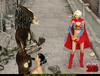Super Girl sees alien predator fucking black hair…