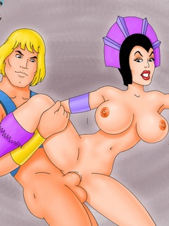 Porn Superman, Prince Charming and He-Man getting - Picture 3