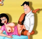 Porn Jetsons love practicing deepthroats