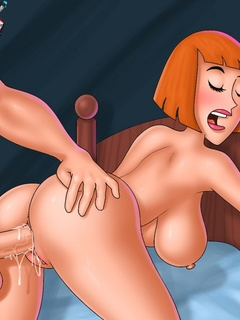 Daphne from porn Scooby-Doo and little Meg Griffin - Picture 1