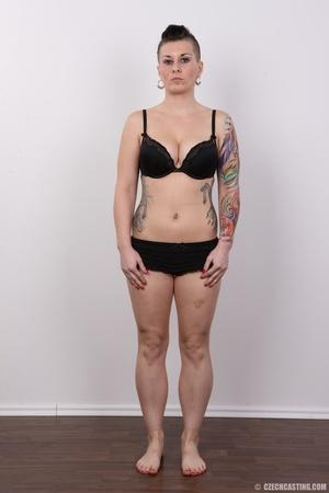 Tattooed pierced chick with big round ti - XXX Dessert - Picture 7