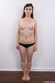 adorable redhead with inviting