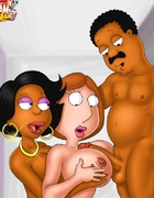 Dirty Browns from Cleveland Show and Lois Griffin…