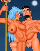 Big-titted sluts Chel from porn Road to El-Dorado…