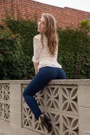 Jeans sex in wet