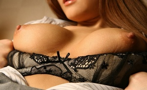 Doll ditches her black lingerie and pantyhose in the bedroom. - XXXonXXX - Pic 6