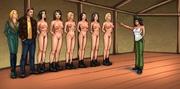 naked chicks chemical laboratory