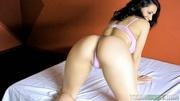 busty latina chick giving