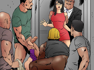 Brunette chick in glasses offers her - BDSM Art Collection - Pic 2