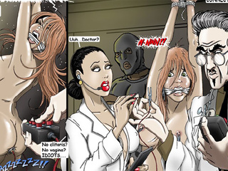 Busty chicks gets tortured and toy - BDSM Art Collection - Pic 3