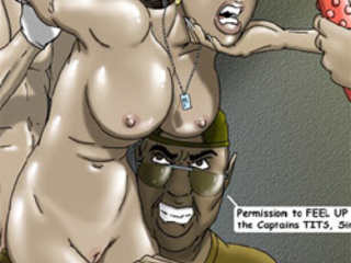 Busty ponytailed doctor and swarthy - BDSM Art Collection - Pic 4