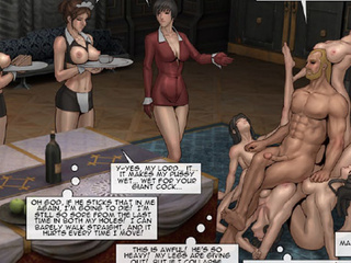 Long-haired blonde master with a beard - BDSM Art Collection - Pic 4