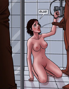 Hot girls getting tortured and abused by black dudes in prison. BAD LIEUTENANT