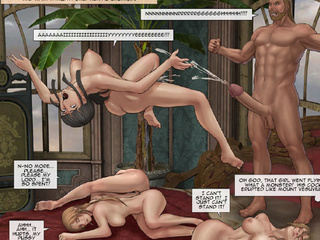Unbelievable toon orgy with rough - BDSM Art Collection - Pic 3
