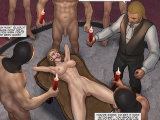 Enslaved girls getting tortured and - BDSM Art Collection - Pic 2