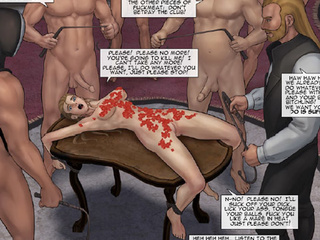 Enslaved girls getting tortured and - BDSM Art Collection - Pic 3