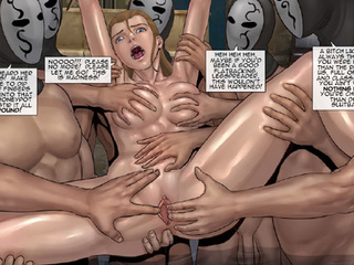 Enslaved girls getting tortured with - BDSM Art Collection - Pic 2