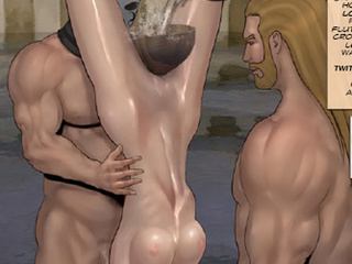 Enslaved girls getting tortured with - BDSM Art Collection - Pic 4