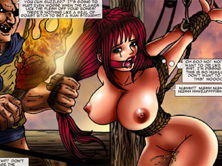 Busty whores in bondage getting abused - BDSM Art Collection - Pic 4