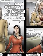 In this toon office various kinky things with cute…
