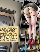 This office is a real paradise for different kinky…