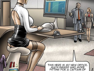 Submissive office sluts obeying their - BDSM Art Collection - Pic 3