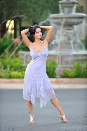 Pornstar Ava Addams dress and heels - XXX Dessert - Picture 10