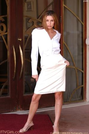 Glamour model Jamie Lynn squirting - XXXonXXX - Pic 14