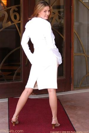 Glamour model Jamie Lynn squirting - XXXonXXX - Pic 15